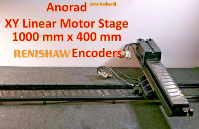 1000 X 400mm Linear Motor Xy Actuator Stage By Anorad W Renishaw Encoders