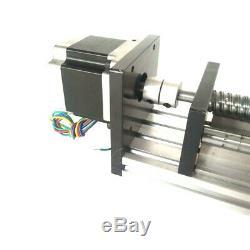 1000mm 1610 CNC Linear Slider with 57 Steper Motor Slide Rail Table Portable New