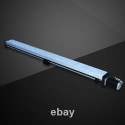 1000mm CNC Linear Guide Rail Slide Stage Actuator Ball Screw Stroke 1.8NM Motor