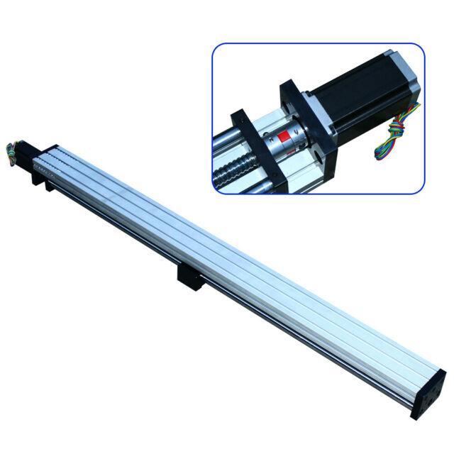 1000mm Linear Guide Slide Table Ball Screw Motion Rail 1.8nm 57 Stepper Motor Us