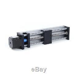 100/200/300mm GGP ball screw linear guide slide+Nema23 Stepper motor 24V 3AFast