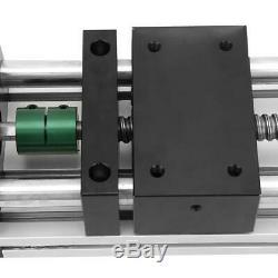100mm 57 Motor Manual Sliding Table Ball Screw Linear Stage CNC Slide Stroke