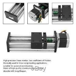 100mm Linear Motion 1605 Ball Screw Guide Rail Slide Table Nema23 Stepper Motor