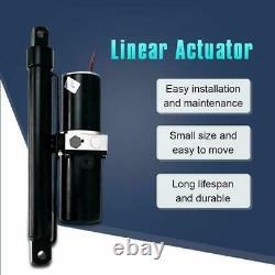10 Stroke Hydraulic Linear Actuator Heavy Duty 3200lbs Max Lift 12V DC Motor