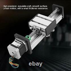 1204 Ball Screw Linear Guide 100mm Long Stage Actuator Slide Stroke Guide Motor