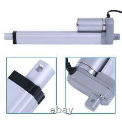 12V 1500N Linear Actuator Lift Electric Motor Bracket 200/350/400/450/700/750mm