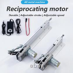 12V 24V Reciprocating Motor Cycling Electric Linear Motion Actuator 150mm Stroke
