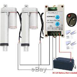 12V 2 Stroke Linear Actuator With Motor Controller Brackets Industry Door Lift IG