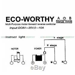 12V Linear Actuator 330lbs/150kg Heavy Duty Electric Motor Lift Mount Bracket