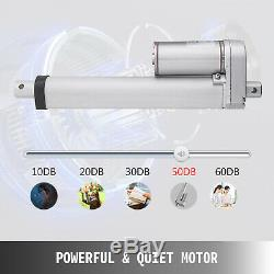 12V Linear Actuator 6-30 Stroke 900N/6000N Optional Putter Motor Controller