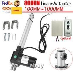 12V Linear Actuator 8000N 100MM 300MM 500MM 800MM 1000MM Linear Motor Heavy Duty
