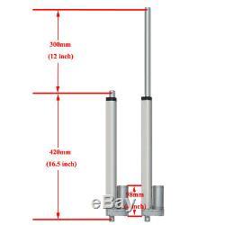 12V Linear Actuator Motor 1000N 300mm 12 Stroke Heavy Duty for Window Opener DO