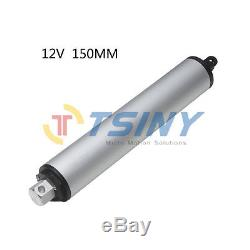 12 VDC High speed 5.9/6in Linear Actuator DC Motor Stroke 150mm Force 50N TS-LY