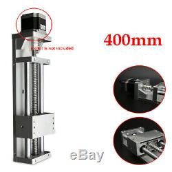 1605 Ball Screw Sliding Table Linear CNC Slide Actuator Step Motor Stroke 400mm