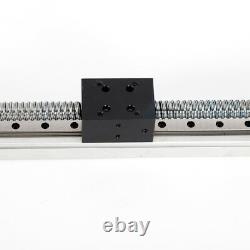 16 CNC Linear Actuating Stage Slide Rail Guide Actuator Nema23 Motor Ball Screw