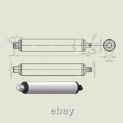 1Pc High Speed Electric Tubular Linear Actuator Motor 130mm/s 50-400mm Stroke CY