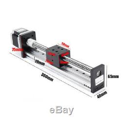 200mm Linear Actuator 1605 Ball Screw Motion Guide Rail +57 Motor For CNC Router