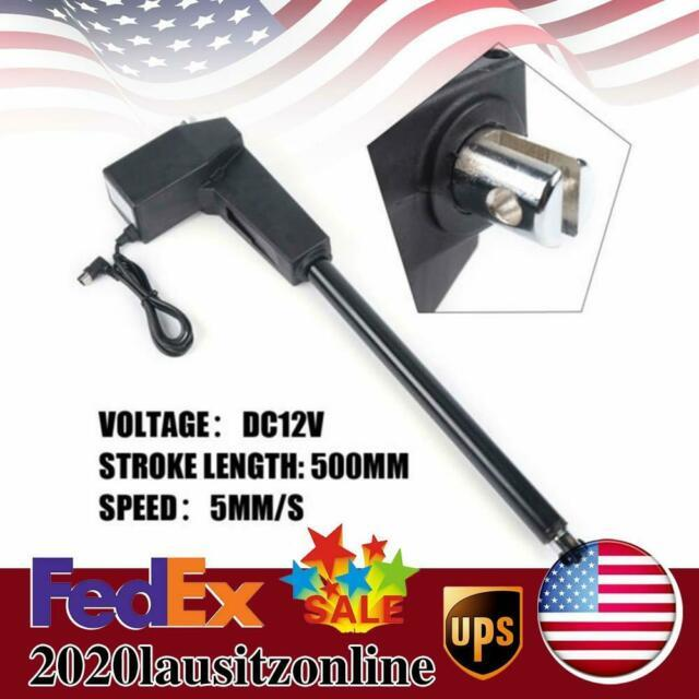 20 Inch Linear Actuator Stroke 8000n Max Lift 12v Volt Dc Electric Motor New