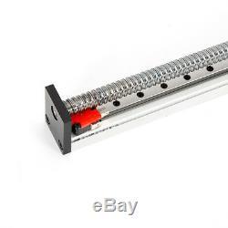 24V CNC Linear Guide Rail Stage Actuator 1605 B-Screw Motion Slide Nema 23 Motor