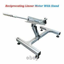 24V DIY Cycling Reciprocating Linear Motor Aluminium Alloy Stand + Power Adapter