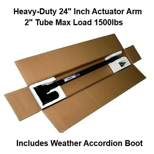 24 Inch Satellite Actuator Arm Heavy Duty Linear Motor 36v With Boot New