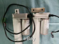 2EA Electric Linear Actuator 230mm Stroke Linear Motor DC24V 400N 16mm/sec