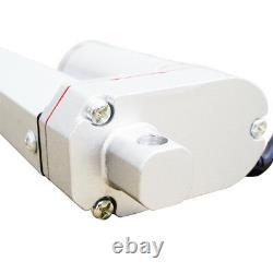 2PCS 1000N 18 Stroke Linear Actuator 220Pound Max Lift Electric Putter Motor EL