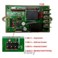 2PCS 12V DC 450mm 18 Linear Actuator +Remote Motor Controller for Auto Car Door
