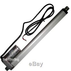 2PCS 12 Linear Actuator 12V Electric DC Motor + Wireless Controller 330lbs Lift