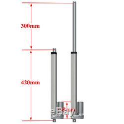 2PCS 12 Linear Actuators 12V DC Motor&Wireless Controller 330lbs 150KG Max Lift