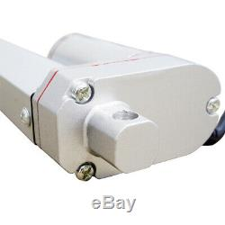 2PCS 8 Linear Actuator With Remote Controller Kit 1500N/330lbs Electric DC Motor