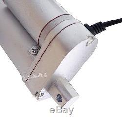2X 10 14mm/s 1000N/220lbs Linear Actuator 12V Electric Motor WindowithDoor Opener