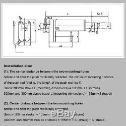 2-32330LBs/1500N Linear Actuator Motor Door Opener Heavy Duty Bracket Lift IP65