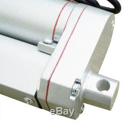 2 Dual Linear Actuator With Remote Controller 12V Electric Motor 1500N 330lbs Lift