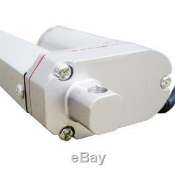 2 Linear Actuators 12 Stroke 1500N 330lbs DC 12V Motor &Wireless Control Kits