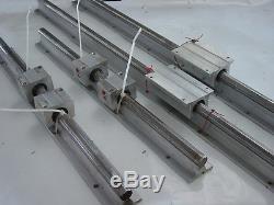 2 Pairs Linear Rails Cnc Router Engraver 3d Printer Servo Stepper Motor Thomson