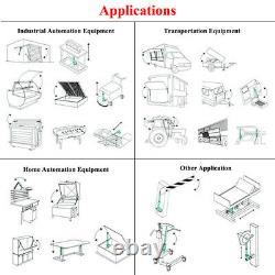 2 Set 14 Stroke Linear Actuator 12V Motor &Remote Control Heavy Duty 330lbs Car