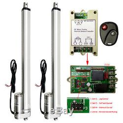 2 Set 16 Linear Actuators 1500N 330lbs 4mm/s DC12V Motor With Wireless Controller
