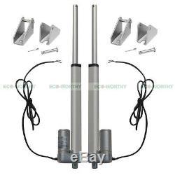 2 Set 8 12V Linear Actuator 12V Electric Motor for Satellite Antenna Hammock
