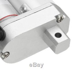 2x Linear Actuator 14'' 12V DC 330LB Max Lift 150kg Electric Motor for Industry