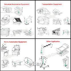 2x Multi-function 12 Stroke Linear Actuator 12V Motor With Remote Control Auto RV