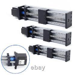 300mm GGP Ball Screw linear Guide Sliding Table, 23nema stepper motor, 24V 3A Nice
