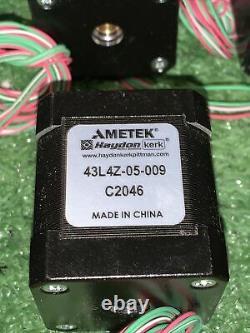 30 QTY! BULK LOT- CNC Haydon Ametek Stepper Motor Linear Actuator 43L4Z-05-009