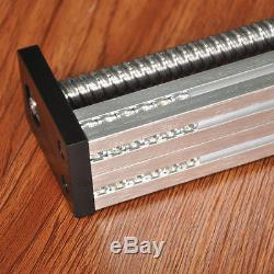 350mm Stroke Linear Motion Slide Actuator Guide Linear Rail Stage Nema 23 Motor