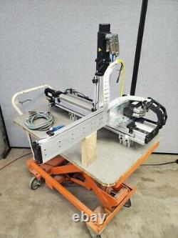 3 Axis Kollmorgen Ball Screw Driven Linear Actuator Robot Servo Motor XYZ Gantry