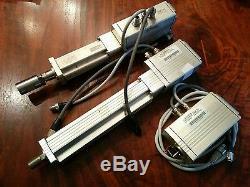 3 WITTENSTEIN TXBA 24V servo motor, driver, encoder, linear actuator ballscrew