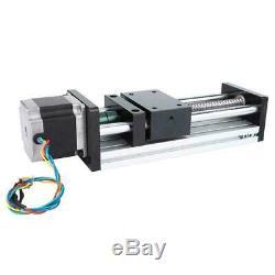 400mm Ball Screw Linear Motion Guide Actuator Slide Rail Nema17 42 Stepper Motor