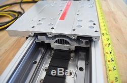 48 Parker Daedal 406LXR Linear Servo Motor Actuator with Renishaw Encoder Mach3