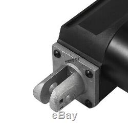 4-18 6000N Electric Linear Actuator 1320lbs Max Lift Heavy Duty 12V DC Motor