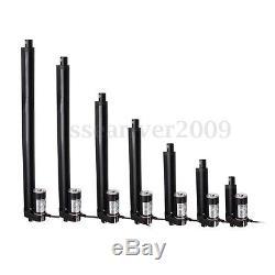 4'' 6'' 8'' 12'' 16'' Electric Linear Actuator Motor Heavy Duty Bracket Lift